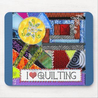 crazy quilt mouse pad