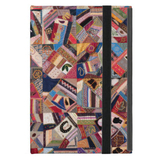 Crazy Quilt Patchwork-Look iPad Mini Case