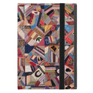 Crazy Quilt Patchwork-Look iPad Mini Case