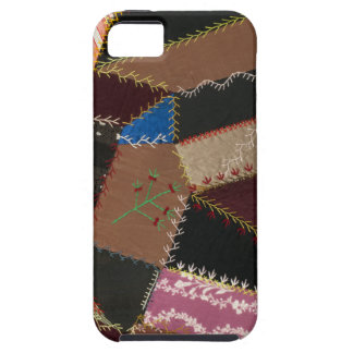 Crazy quilt upholstery, 1795-1815 iPhone 5 case