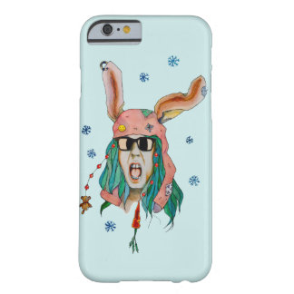 Crazy Rabbit Barely There iPhone 6 Case