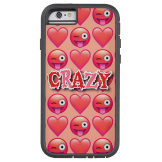 Crazy Red Emoji iPhone 6/6s Otterbox Case