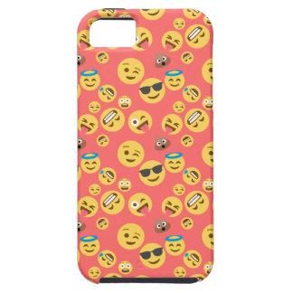 Crazy Red Emoji Pattern iPhone 5 Case