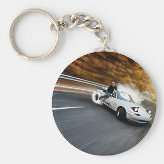 Crazy Roadster Drifter Keychain