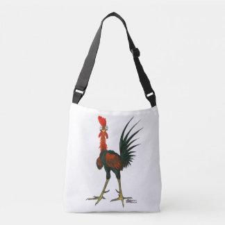 Crazy Rooster Crossbody Bag