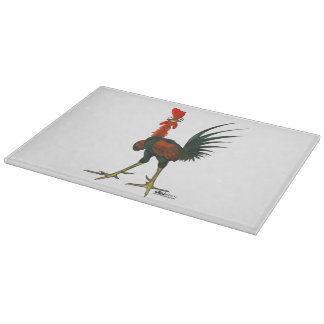 Crazy Rooster Cutting Board