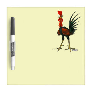 Crazy Rooster Dry Erase Board