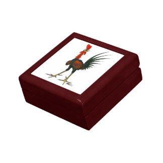 Crazy Rooster Gift Box