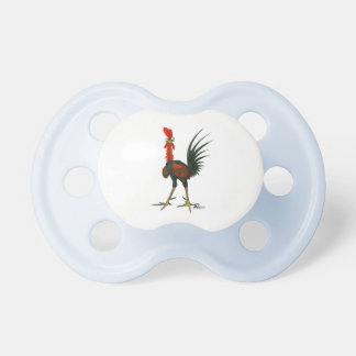 Crazy Rooster Pacifier
