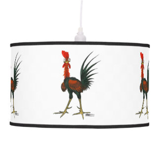 Crazy Rooster Pendant Lamp