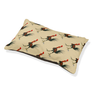 Crazy Rooster Pet Bed