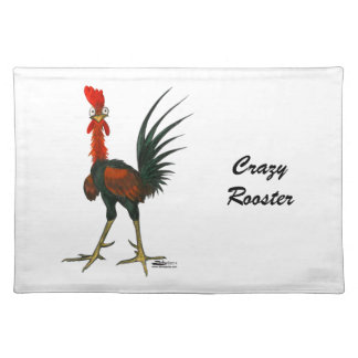 Crazy Rooster Placemat