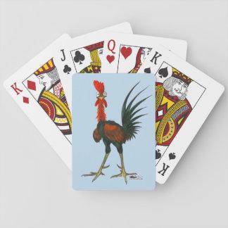 Crazy Rooster Poker Deck