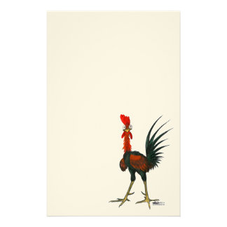 Crazy Rooster Stationery