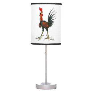 Crazy Rooster Table Lamp
