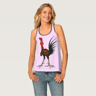 Crazy Rooster Tank Top