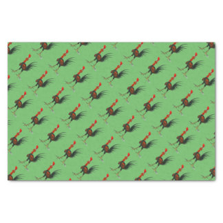 Crazy Rooster Tissue Paper