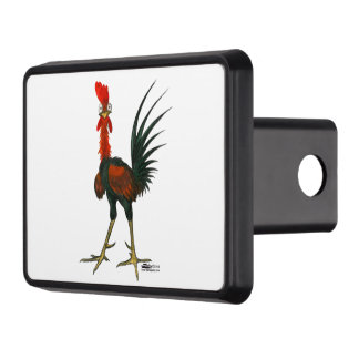 Crazy Rooster Trailer Hitch Cover