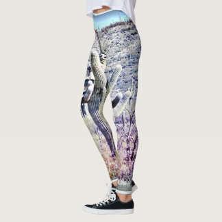 Crazy Saguaros Custom Women's Leggings