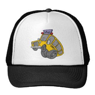 Crazy School Bus Trucker Hat