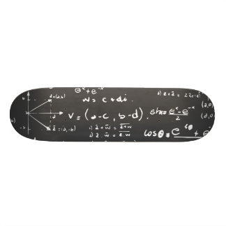 Crazy science deck doodle design skateboard