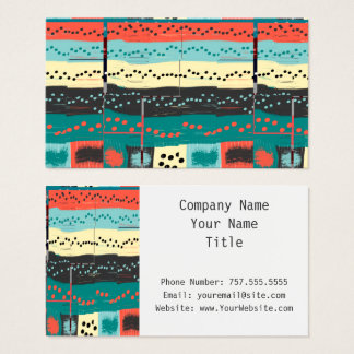 Crazy Sheet Music by Shirley Taylor Business Card