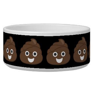 Crazy Silly Brown Poop Emoji Pet Water Bowls