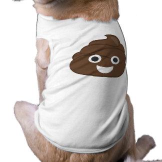 Crazy Silly Brown Poop Emoji Shirt