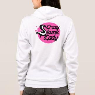 Crazy Skunk Lady Hoodie