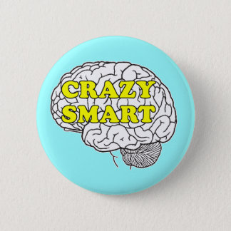 crazy smart 2 inch round button