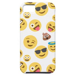 Crazy Smiley Emojis iPhone 5 Case