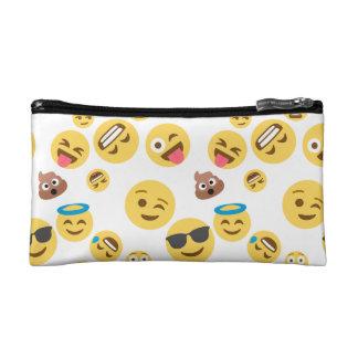 Crazy Smiley Emojis Makeup Bag