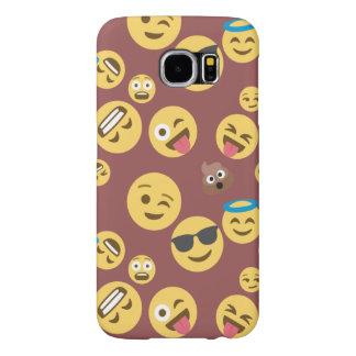 Crazy Smiley Emojis Samsung Galaxy S6 Cases