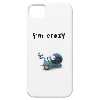 Crazy Snail iPhone Case Case For The iPhone 5