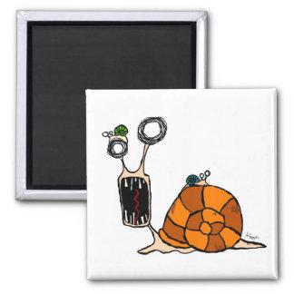 Crazy Snail Magnet