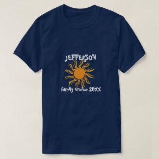 Crazy sun family cruise T-Shirt