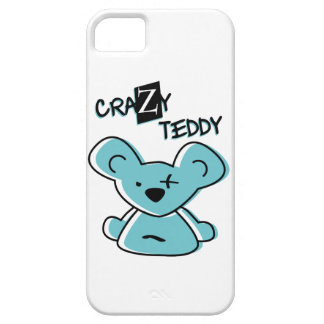 crazy teddy iPhone 5 cover
