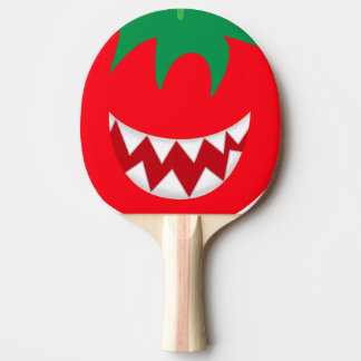 Crazy tomato ping pong paddle