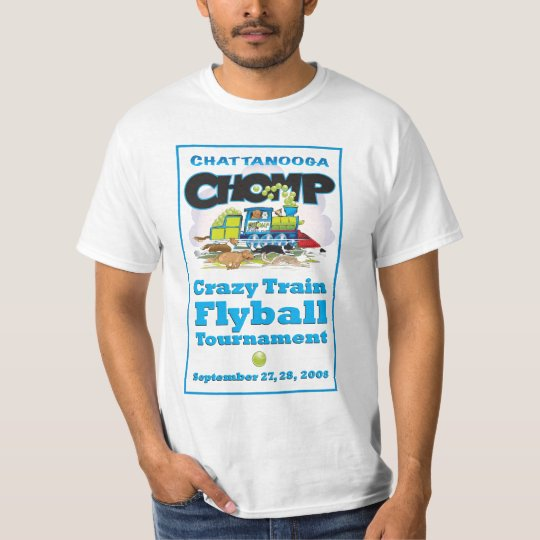 Crazy Train Flyball Tourney T-Shirt