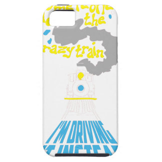 crazy train iPhone 5 covers