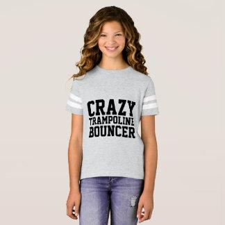 CRAZY TRAMPOLINE BOUNCER Kids T-shirts