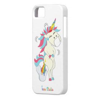 Crazy Unicorn iPhone Case