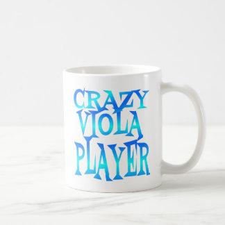Crazy Viola Player Coffee Mug