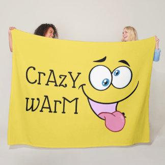 Crazy Warm Fleece Blanket