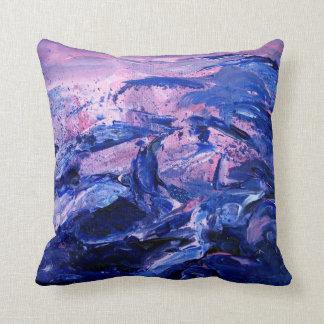 crazy waves pillow