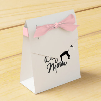 Crazy Weimaraner Dog Mom Favor Box