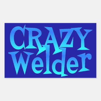 Crazy Welder Sticker