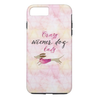 Crazy Wiener Dog Lady iPhone 8 Plus/7 Plus Case