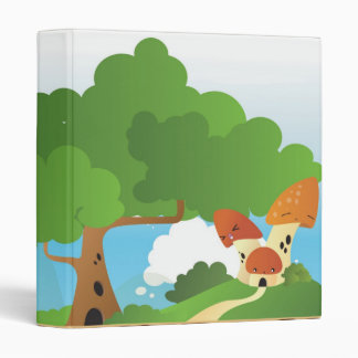 Crazy World - Mushroom House Binder