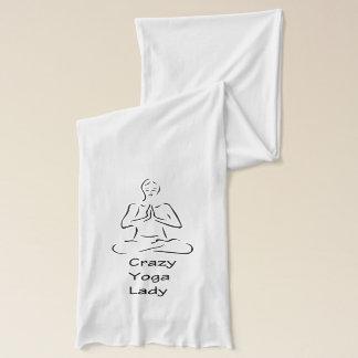 Crazy Yoga Lady Scarf